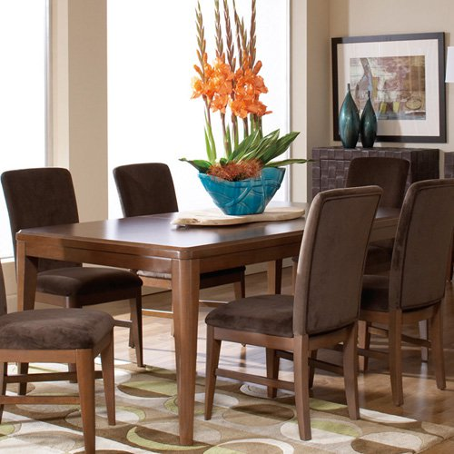 Homelegance Beaumont Rectangular Dining Table - Brown Cherry