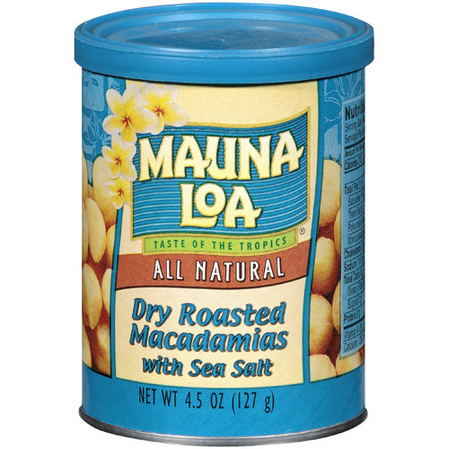 Mauna Loa Dry Roasted Macadamias with Sea Salt, 4.5 oz