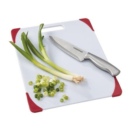 Farberware 11 inch By 14 inch Nonslip Poly Cutting Board