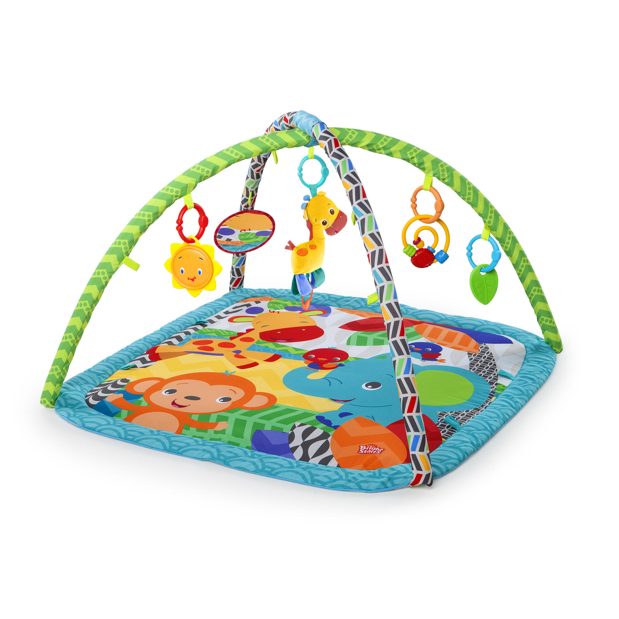 Bright Starts Zippy Zoo Activity Gym