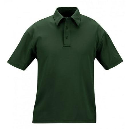 I.C.E. Men's Performance Wrinkle-Resistant Polo Shirt - Short