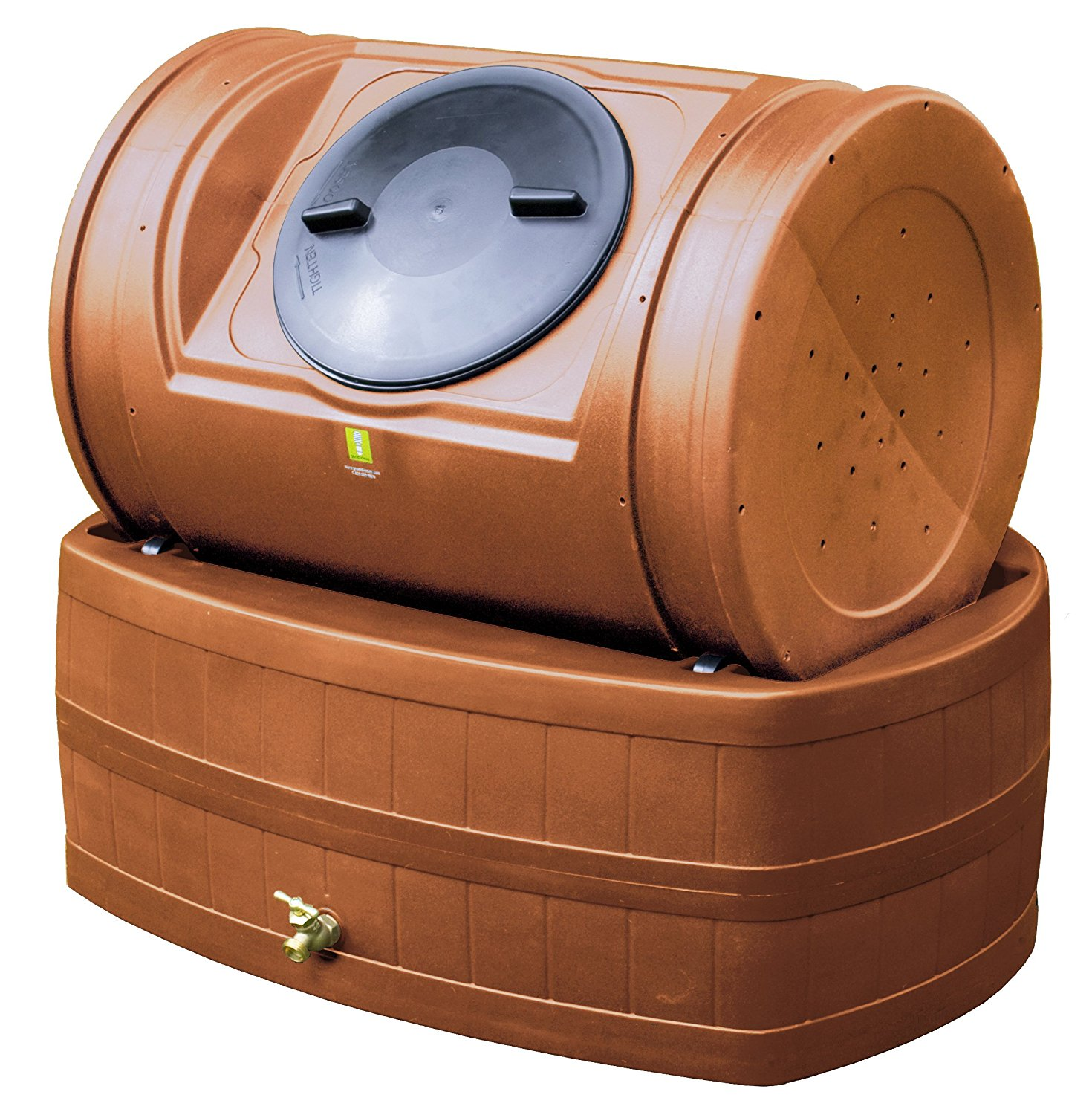Compost Wizard Hybrid Bin Terra Cotta by