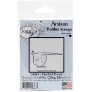"""Joggles Cling Stamp 3.75""""x2""""-the Bird Er"""