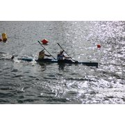 LAMINATED POSTER Boot Canoeing Sport Leisure Water Water Sports Poster Print 24 x 36 by