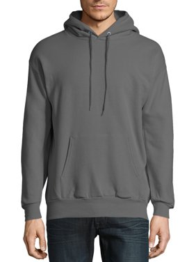 Hanes Men's and Big Men's Ecosmart Fleece Pullover Hoodie Sweatshirt, up to Size 5XL