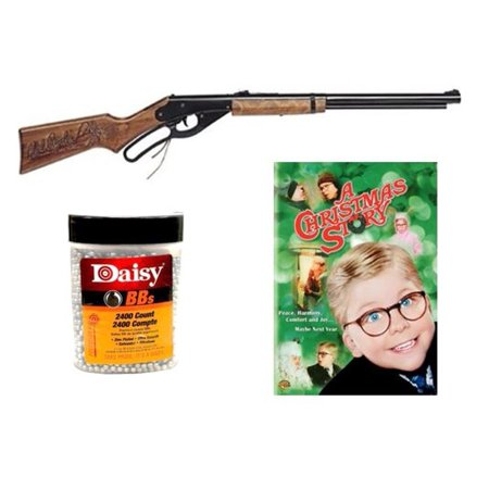Daisy Red Ryder Gift Bundle: BB Gun + DVD + BBs (Davis Rudder)