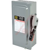 - Square D H361N  30 Amp  Heavy Duty   Fusible Disconnect Switch w/ Neutral 600 Volt 3 Phase