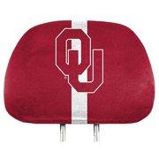 NCAA Oklahoma Sooners Head Rest Covers, Set of 2