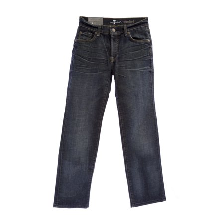 7 For All Mankind Boys Standard Classic Straight Leg Jeans