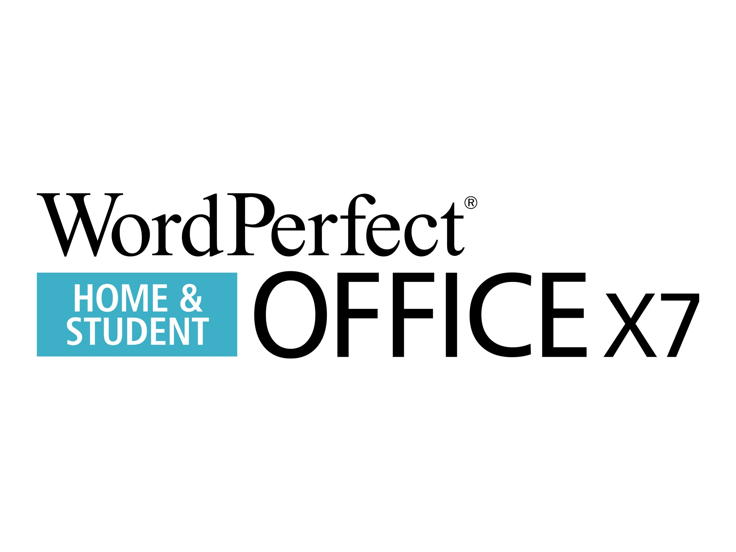 WordPerfect Office X7 Home and Student Edition - License and