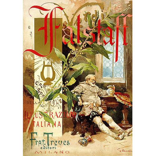"Trademark Fine Art ""Verdi Falstaff"" Canvas Art"