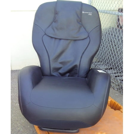 Human Touch HT 2720 black vinyl refurbished massage chair - Including Groung Curbside (Ht 100 Human Touch Robotic Massage Chair Recliner)