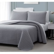 Bedding Coverlets : gray quilted bedspread - Adamdwight.com