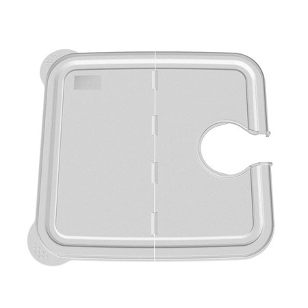 collapsible hinge sous vide container lid for anova cookers and 12