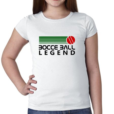 Bocce Ball Legend - 70s Vintage Graphic Girl's Cotton Youth - 70s Girl Fashion