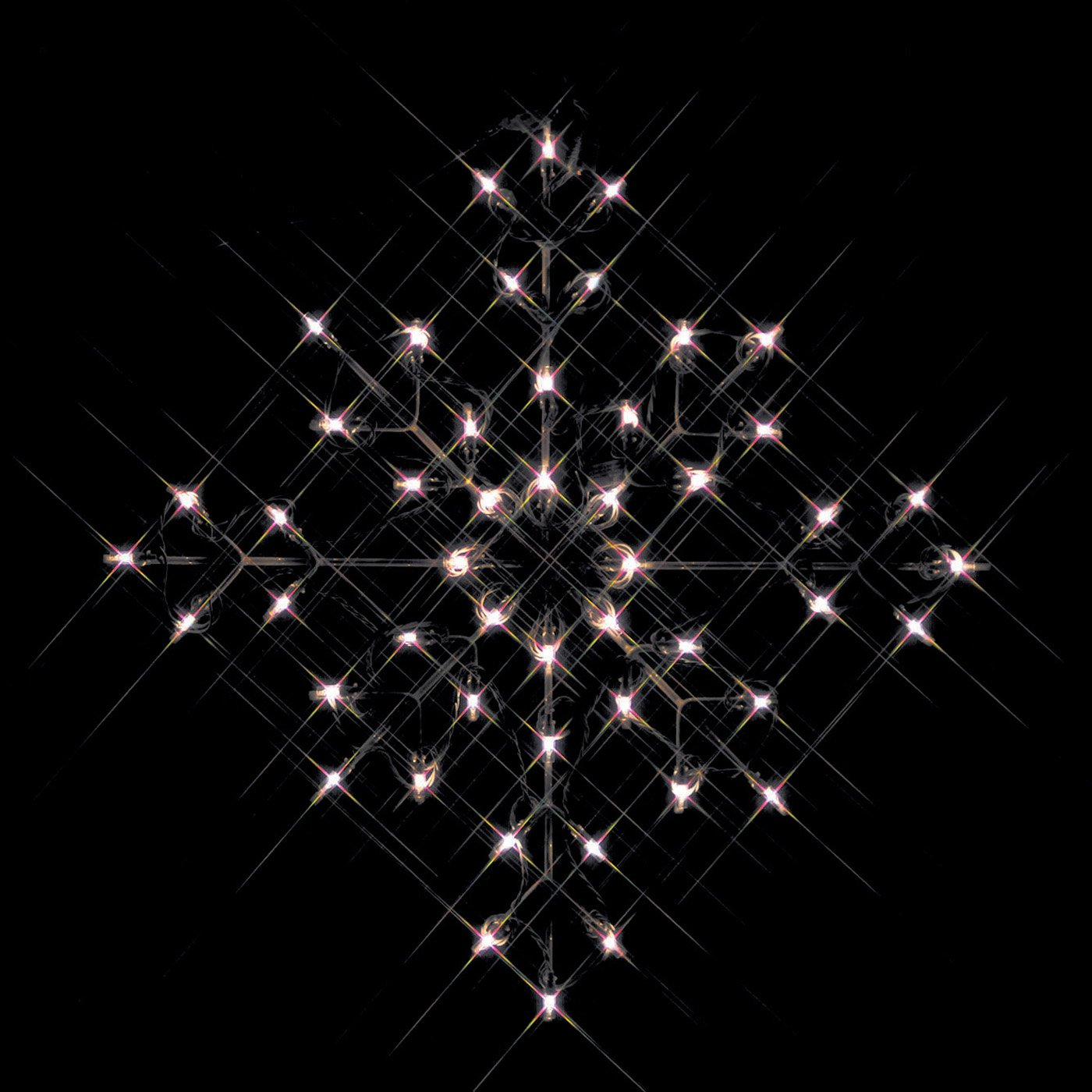 24 in outdoor incandescent clear snowflake lighted display 50 outdoor incandescent clear snowflake lighted display 50 bulbs walmart aloadofball Images