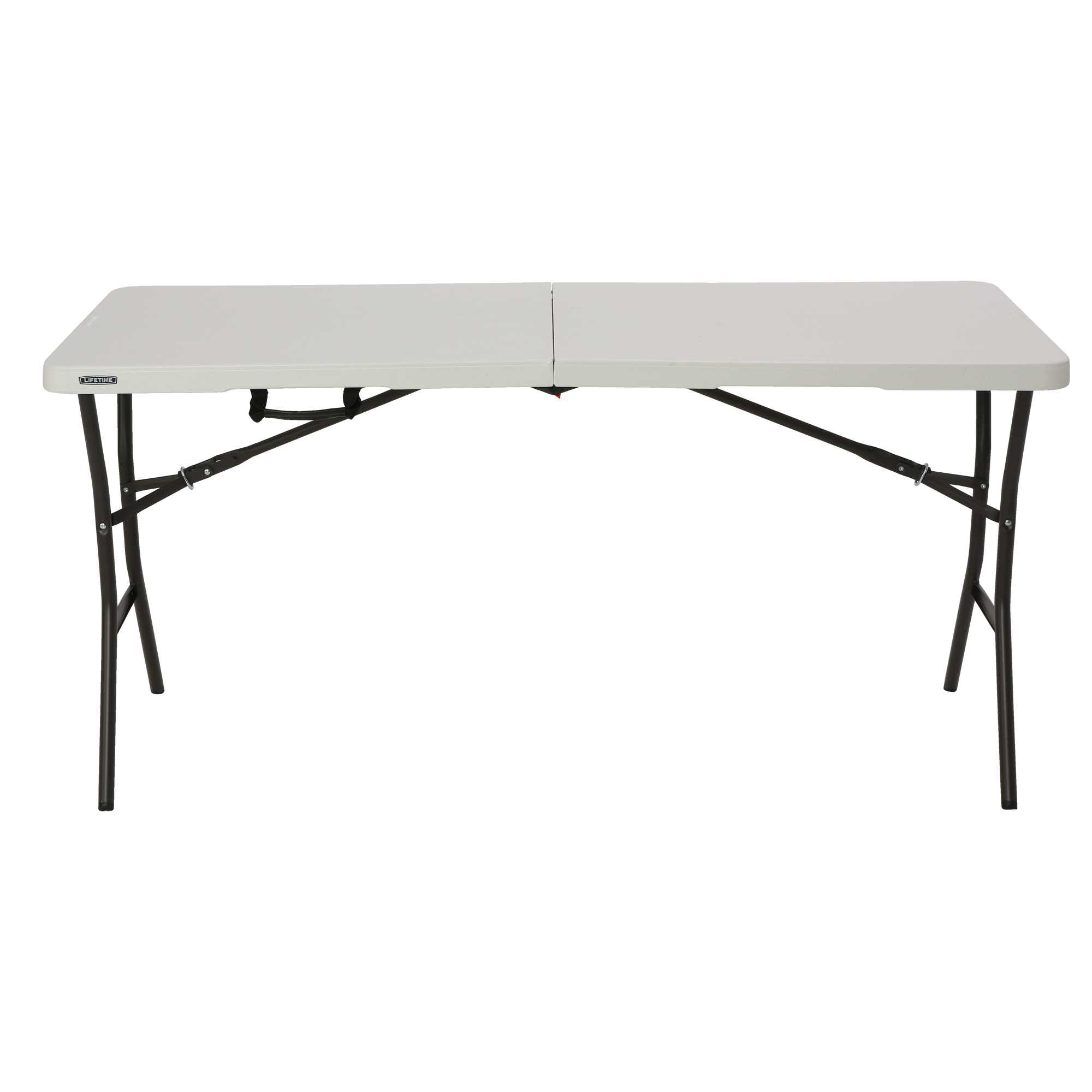 Lifetime 5 Essential Fold In Half Table Home Furniture Office Portable Party