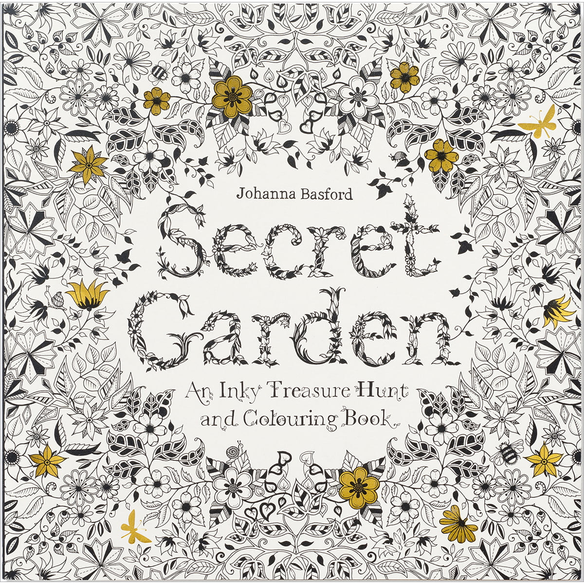 Chronicle Books-Secret Garden Coloring Book