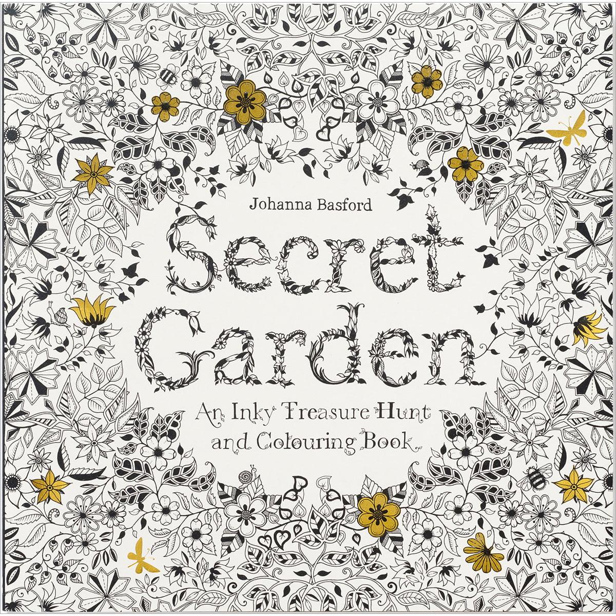 Chronicle Books-Secret Garden Coloring Book