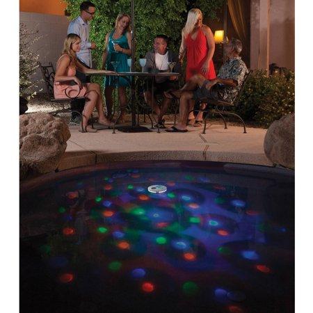 Swim Time Solar Underwater Light Show Floating Pool Light