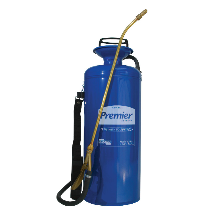 "Premier Sprayer, TriPoxy Metal, 3 gal, 18"" Extension, 42"" Hose, Blue by Chapin™"