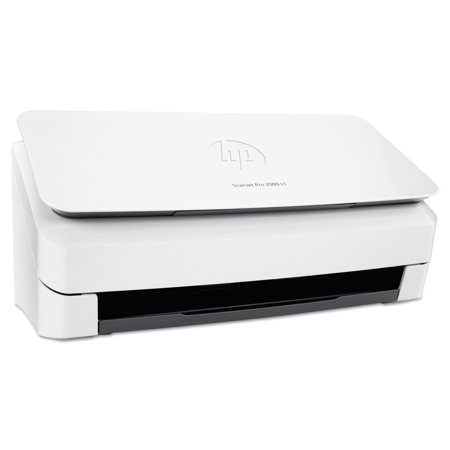 HP ScanJet Pro 2000 s1 Sheet-Feed Scanner, 600 dpi Optical Resolution, 50-Sheet Auto Document Feeder -HEWL2759A (Small Printer Scanner)