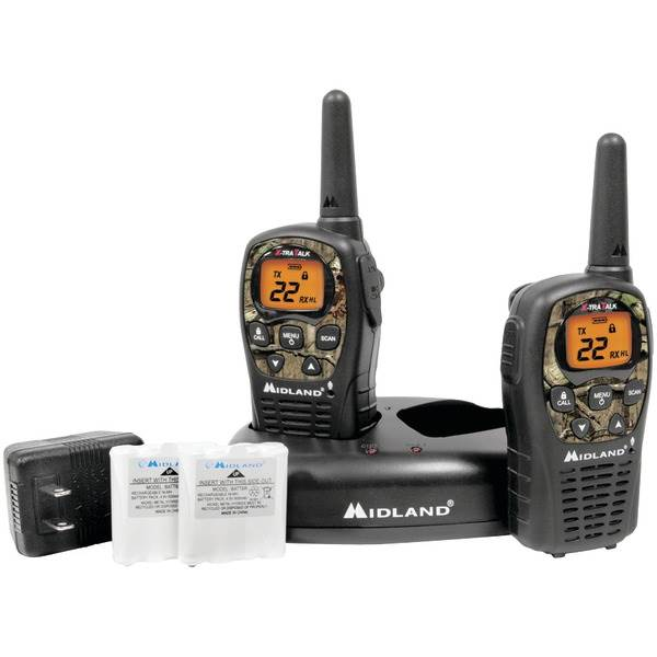 24-Mile Camo GMRS Radio Pair Value Pack