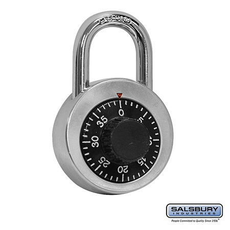 Salsbury Industries 8820 Combination Padlock - for Bulk Storage Locker Door