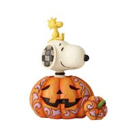 Jim Shore Peanuts 6000981 Snoopy And Woodstock Pumpkin 2018