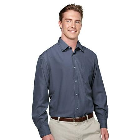 Tri Mountain Mens Button Down Collar Dress Shirt