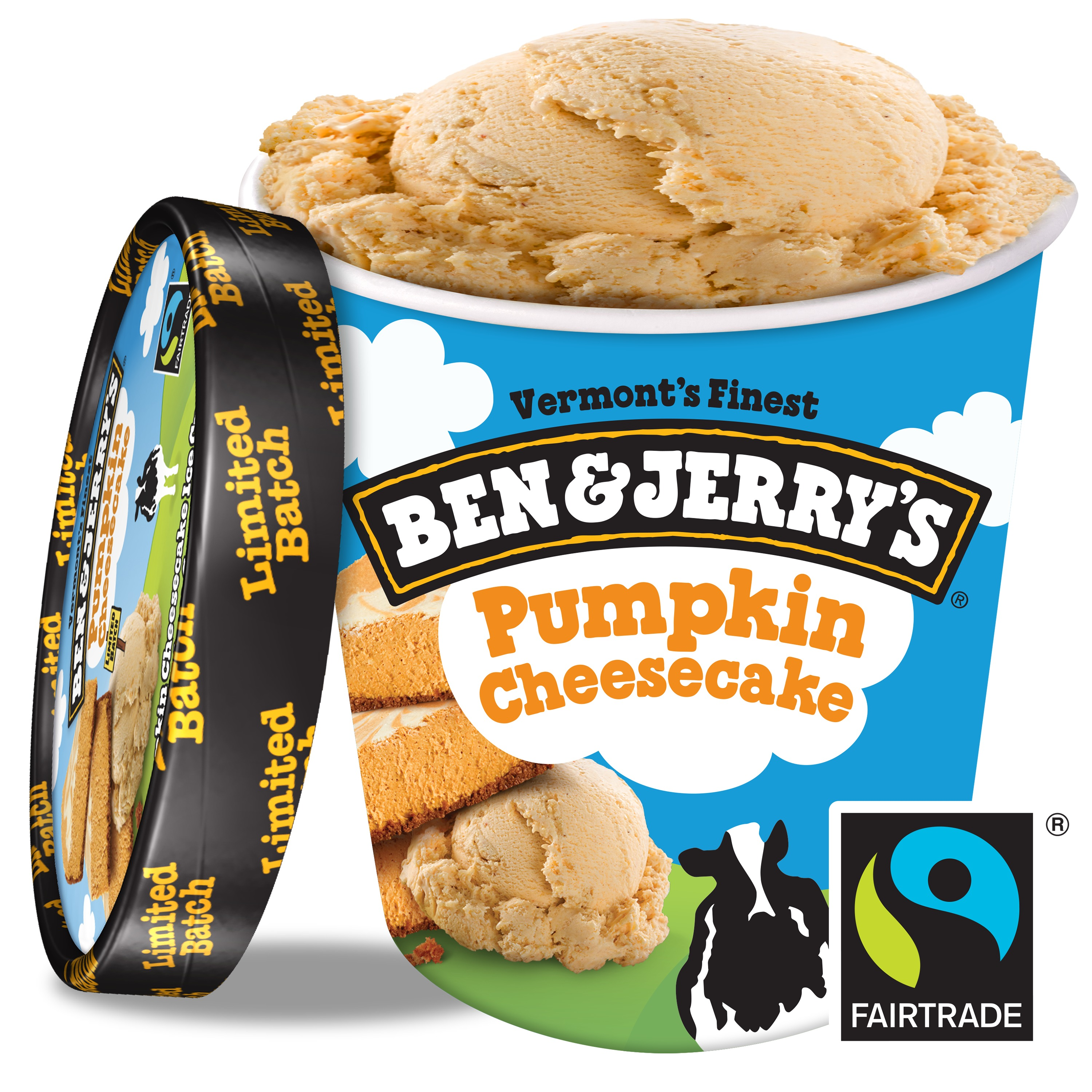 Ben & Jerry's Pumpkin Cheesecake Ice Cream, 16 oz