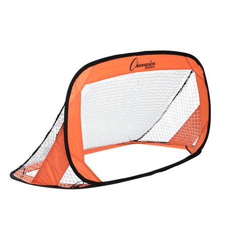 Champion Sports 4' x 2' Pop-Up Soccer Goal (Set of 2) ()