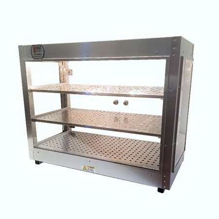 Pizza Cabinet (commercial countertop food warmer cabinet pizza pastry 30x15x24 wide)