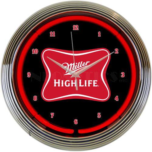 Neonetics 15'' Miller High Life Beer Neon Clock