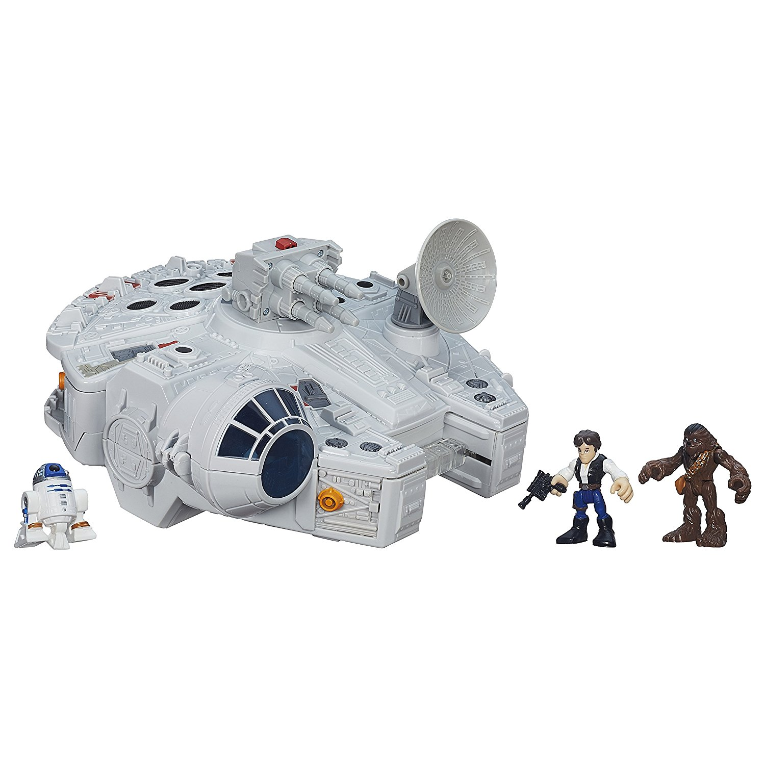 Playskool Heroes Star Wars Galactic Heroes Millennium Falcon and Figures by
