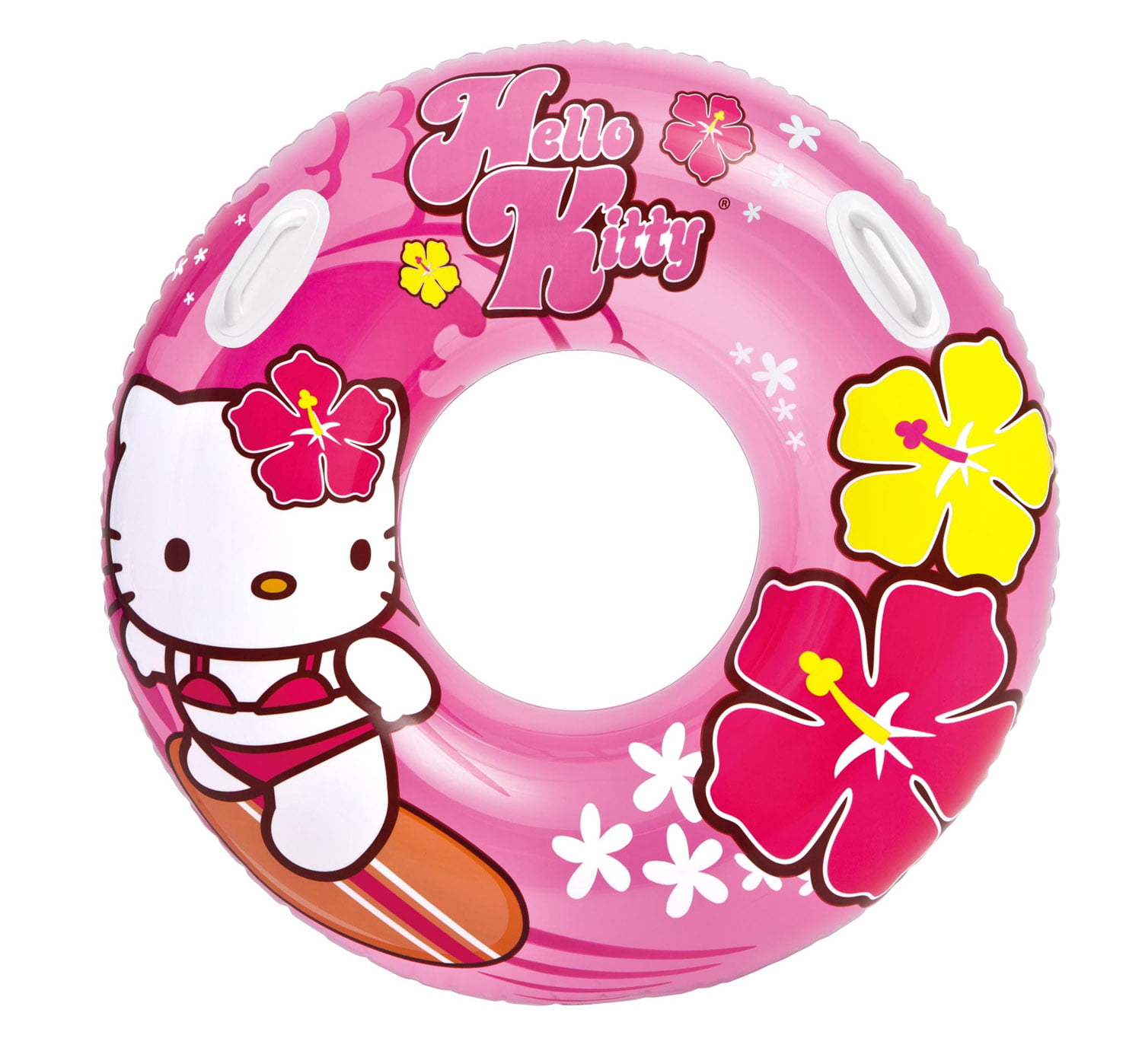 Intex Hello Kitty Inflatable Kids Floating Tube Pool Raft Pink | 58269EP by Intex