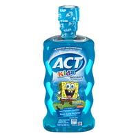 ACT® Kids Anticavity SpongeBob Ocean Berry Fluoride Mouthwash, 16.9 oz