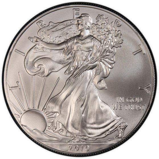 2010 American Silver Eagle 1 oz Silver Coin