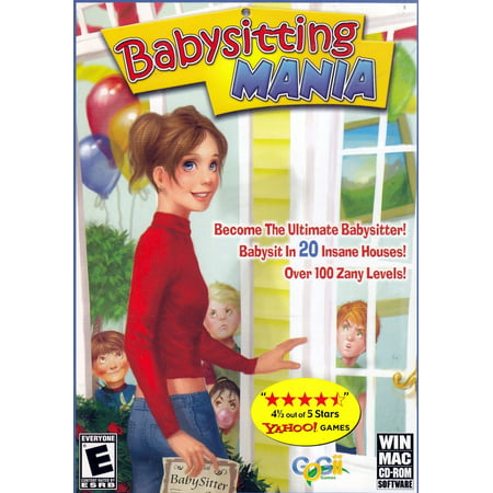 BABYSITTING MANIA ~ Become the Ultimate Babysitter! (PC MAC (Best Computer Games For Mac)