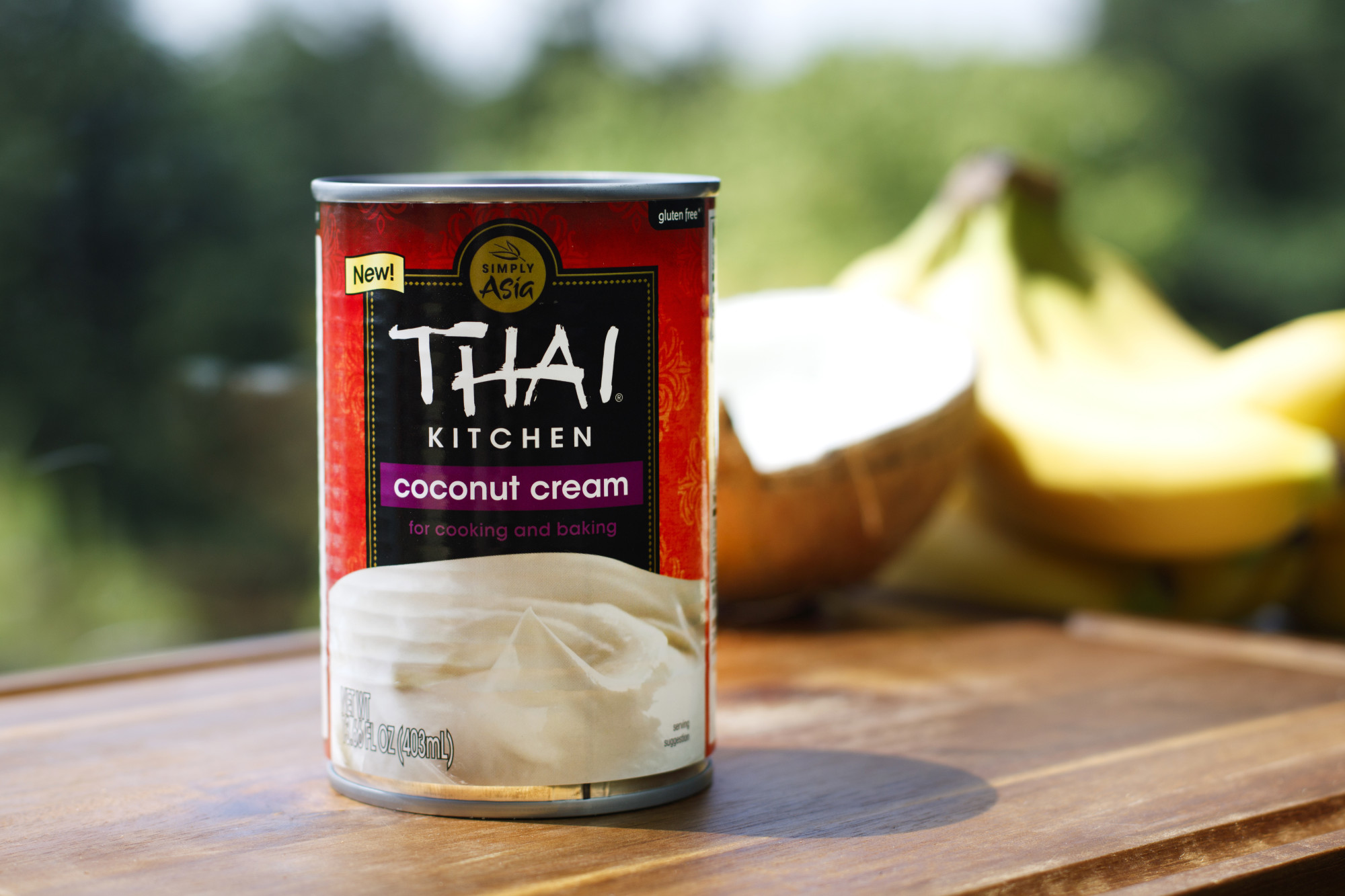 Thai Kitchen Organic Coconut Milk Nutrition Label