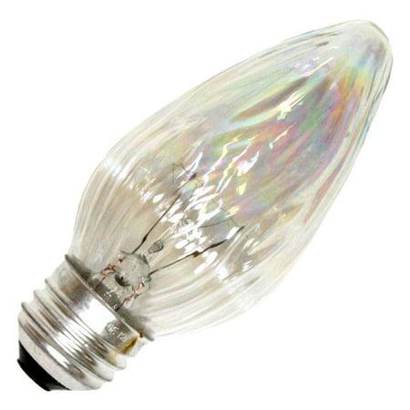 Cf Bulb - GE 73122 - 25FM/AU/CF F15 Decor Flame Tip Light Bulb