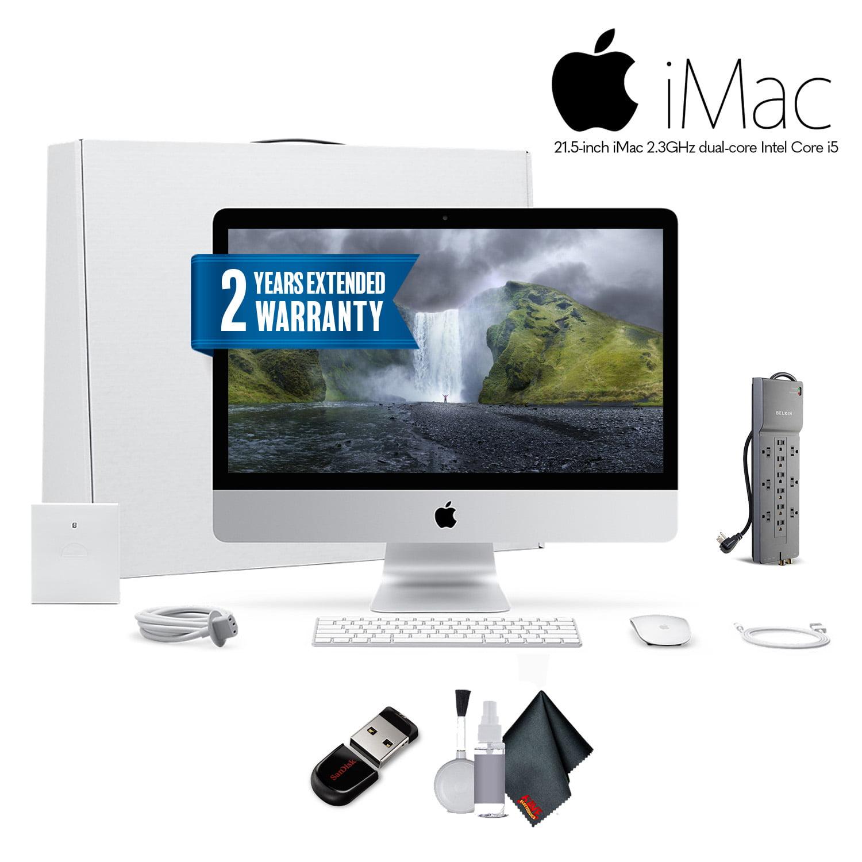 Apple iMac MNDY2LL/A 21 5 Inch, 3 0GHz Intel Core i5, 8GB RAM, 1TB HDD,  Silver Office Bundle With Warranty