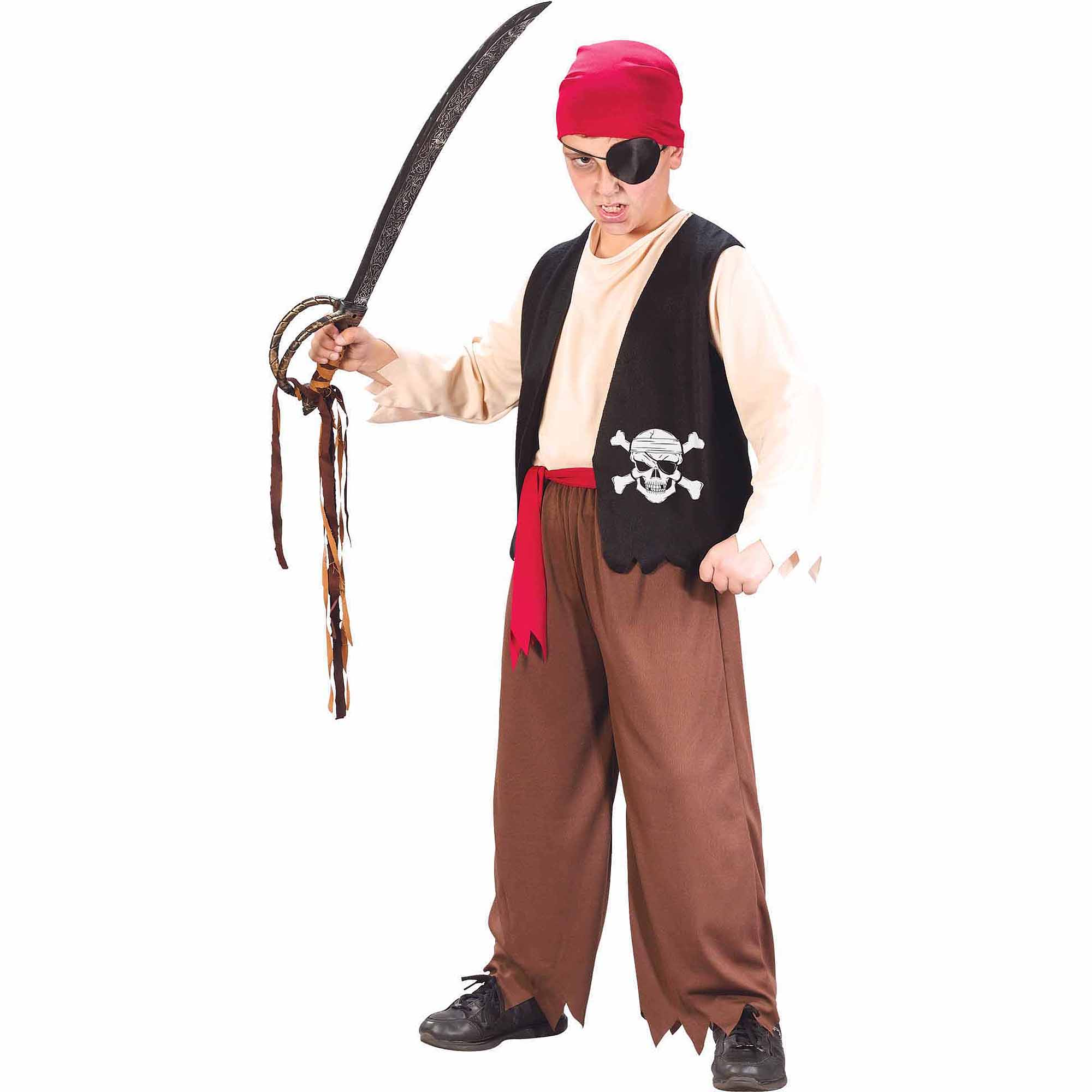 Playful Pirate Child Halloween Costume