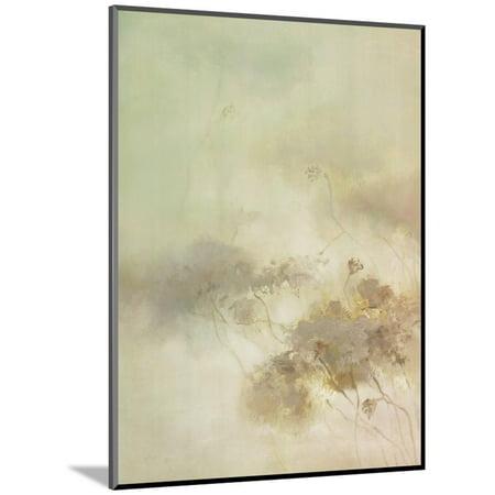 The Rhyme of Lotus, No.10 Wood Mounted Print Wall Art By Yi Xianbin