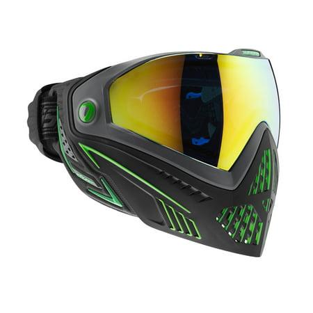 Dye Matrix i5 Thermal Paintball Mask / Goggles - Emerald Black/Lime