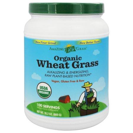 Amazing Grass - Wheat Grass Powder Value Size 100 Servings - 28 oz.