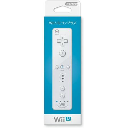 Japanese Nintendo Wii - Nintendo Wii Remote Plus - White (Japanese Box)