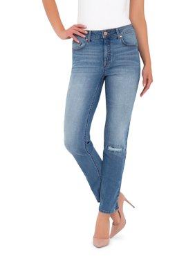 Women's High Rise Straight Leg Denim