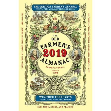 The Old Farmer's Almanac 2019 - eBook