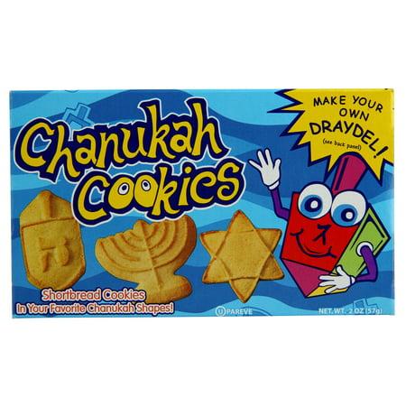 Hanukkah Goods Chanukah Shortbread Cookies